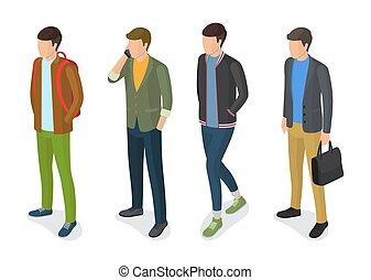 apparels, 流行, モデル, 男性, ジャケット, 流行
