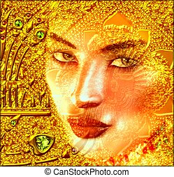 Apparition in Gold