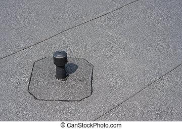appartamento, aeratore, -, tetto, ventilation.