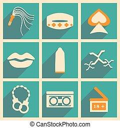 appartamento, concetto, mobile, domanda, uggia, erotica