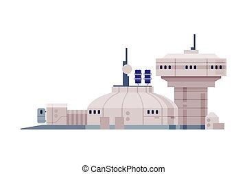 appartamento, costruzione, tecnologie, illustrazione, ...