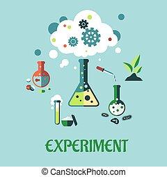 appartamento, esperimento, disegno