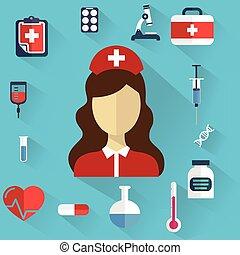 appartamento, ingegneria, medico, sistema, ricerca, chimico, fondo, salute, sanità, medicina, concetto, cura