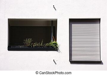 appartamento, moderno, balcone