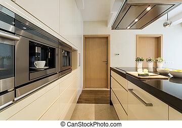 appartamento, moderno, cucina