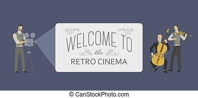 appartamento, orchestra, film