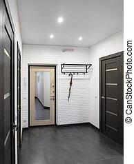 appartamento, salone