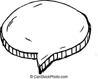 appartamento, sketch., isolated., scarabocchiare, simbolo., illustrazione, mano, decorazione, fondo., vettore, nube nera, handdrawn, disegnato, icon., segno, bianco, element., design.