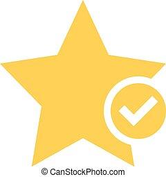 appartamento, stella, segnalibro, bottone, favorito, segno, icona