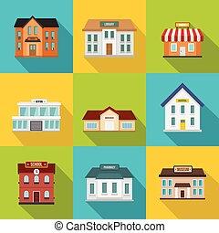 appartamento, stile, costruzioni