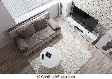 appartamento, vista elevata