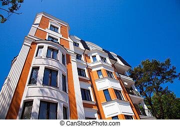 appartement, bâtiment.
