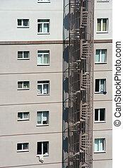 appartement, bloc