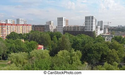 appartement, construction, bâtiments