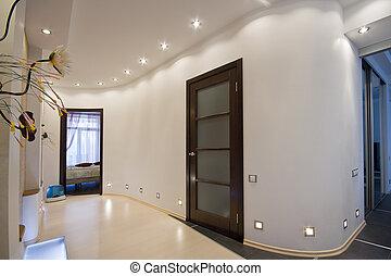 appartement, salle