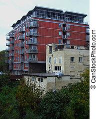 Modern Appartment block