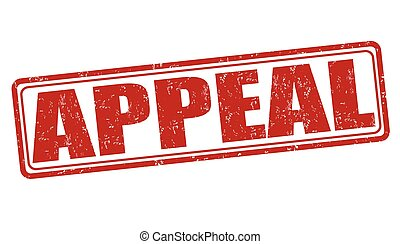 Appeal stamp - Appeal grunge rubber stamp on white, vector...