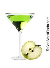 appel, martini, cocktail