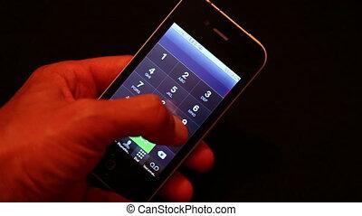 appeler, urgence, nombre