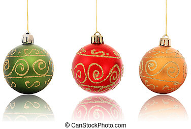 appendere, riflesso, baubles