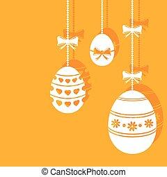 appendere, uova pasqua