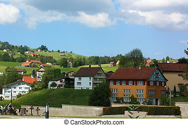 Appenzell, Switzerland - Appenzell is a region and...