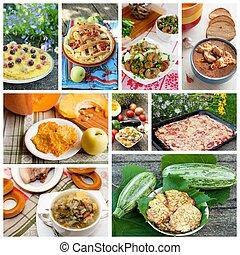 appetitoso, casa, cibo cotto