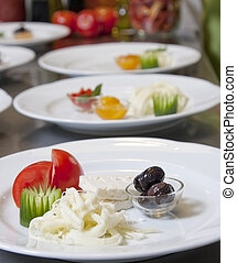 Appetizer dishes
