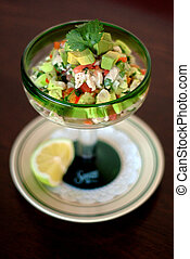 Appetizer - Mexican-style Ceviche