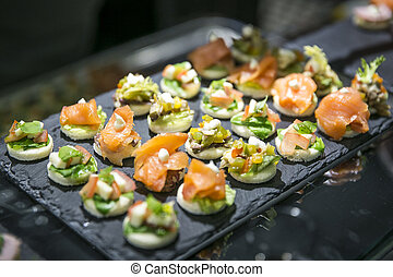 Appetizers and finger food catering - Appetizers and finger ...