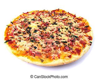 appetizing pizza