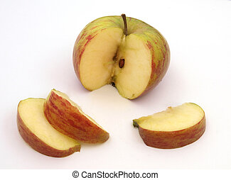 apple., 新たに, 切口