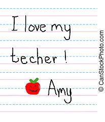 Apple a Day for Teacher