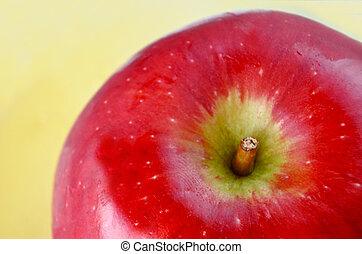 Apple and Honey  background for Rosh HaShanah The Jewish New Year.