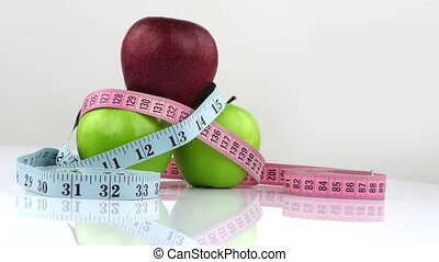 Apple and Measurement Diet Fit Life