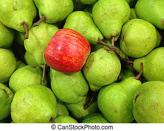 apple and pears background