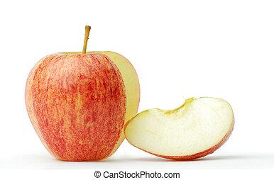 apple - Apple fruit is spherical. Sweet frame.