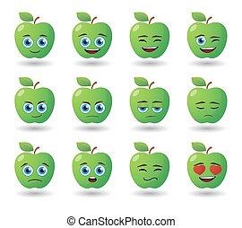 apple avatar expression set