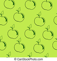 apple background? - seamless pattern, background, fruit on a...