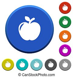 Apple beveled buttons