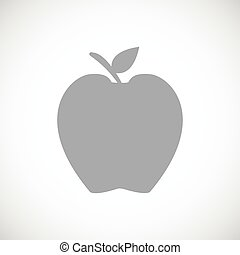 Apple black icon