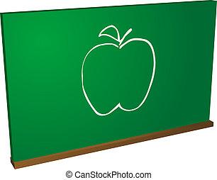 Apple blackboard