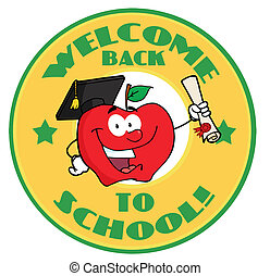 Apple Character Graduate