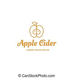 Apple cider logo