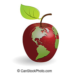 apple-globe