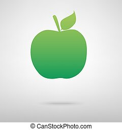 Apple green icon