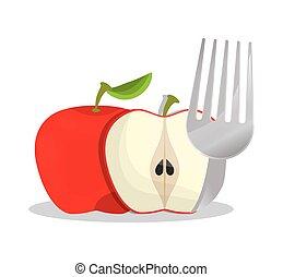 apple healthy food menu