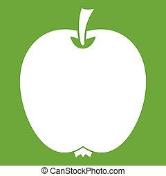 Apple icon green