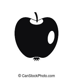 Apple icon, simple style