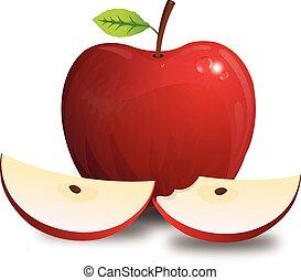 Apple, illustration